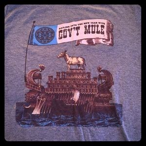 Government Mule tee shirt Medium unisex NWOT